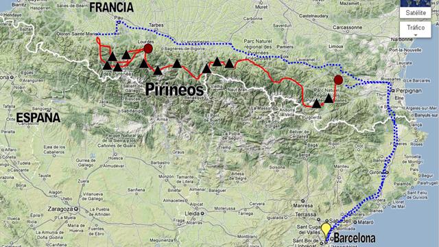 Image gallery pirineos mapa - Casa en el pirineo ...